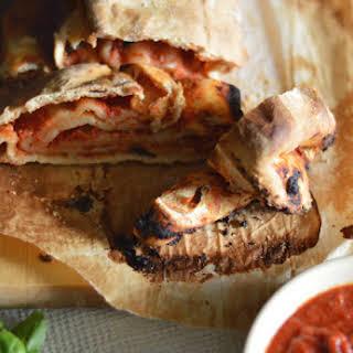 Scaccia Ragusana (Sicilian tomato and cheese pie).