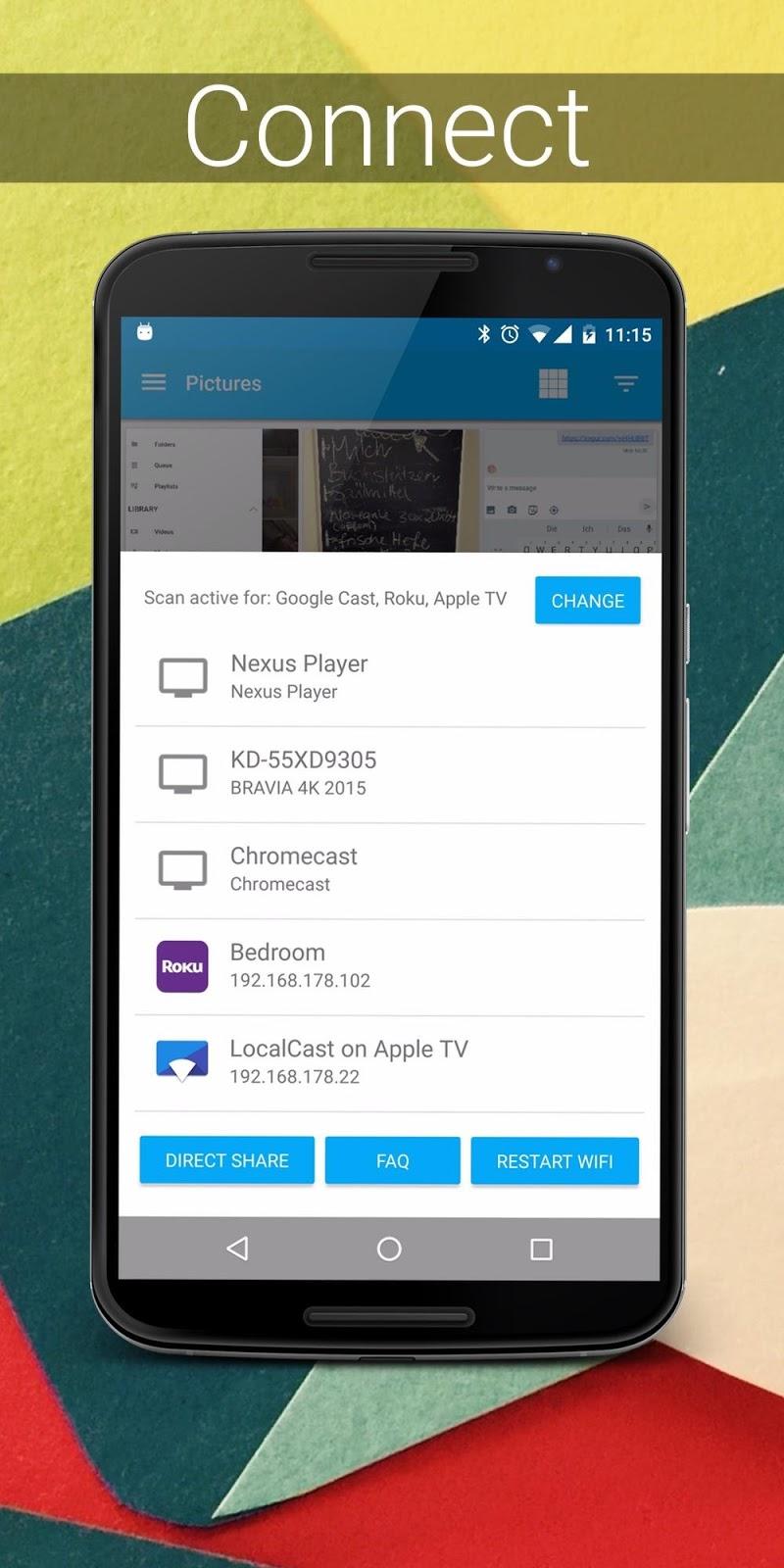 LocalCast for Chromecast Screenshot 0