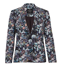 Photo: Bonanza Jacket>>  UK>http://bit.ly/OL8upZ US>http://bit.ly/QHjhEG  Made from printed Italian cloth, the Bonanza Jacket is a slim fitting single breasted jacket. The Bonanza print was designed in house using vintage imagery as inspiration and the cloth was printed in Italy using a digital printing technique. This style features a contrast black lining and our signature new hand polished back neck tailoring chain.