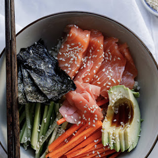 Paleo Sushi Bowl.