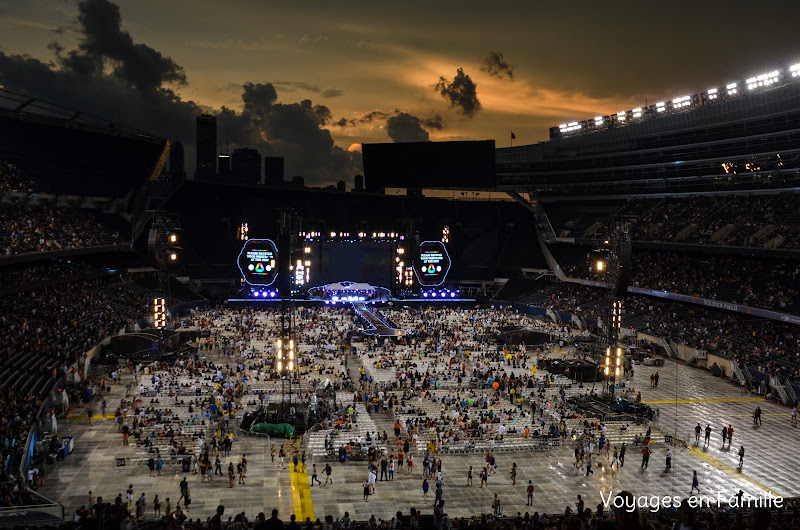 soldier field coldplay