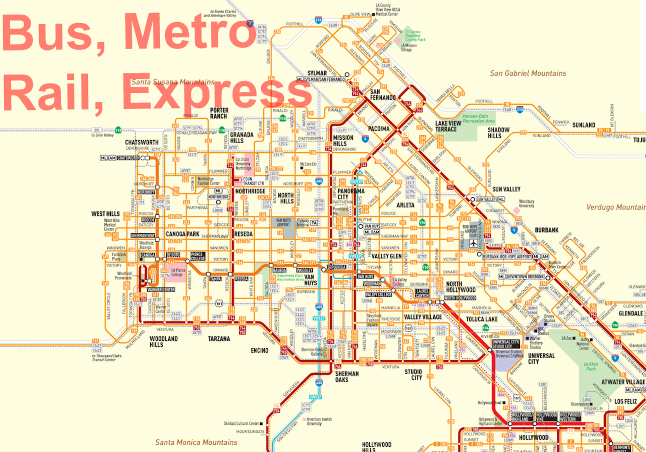 Los Angeles Transport Map Android Apps On Google Play - Los angeles map download