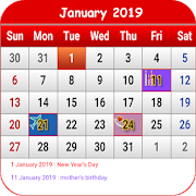 South Korean Calendar