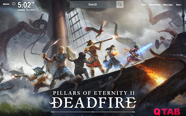 Pillars of Eternity 2 Deadfire HD Wallpapers