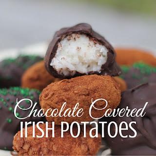Chocolate Covered Irish Potatoes