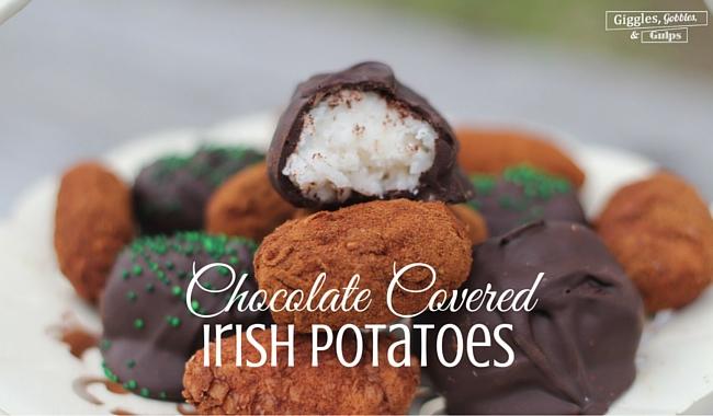 Chocolate Covered Irish Potatoes Recipe
