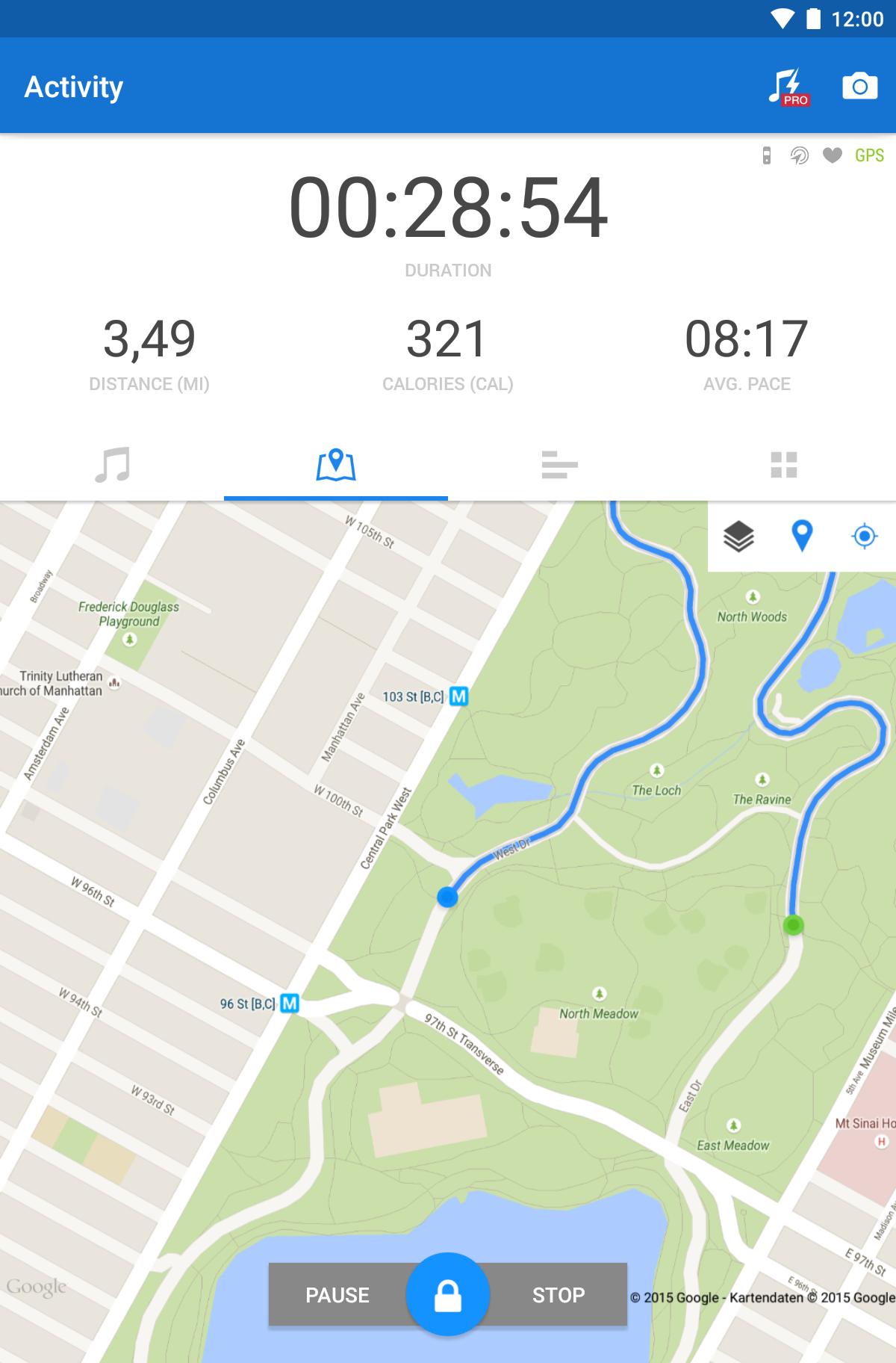 Runtastic Running & Fitness screenshot #19