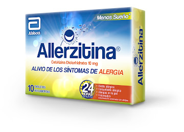 Allerzitina 10mg  x 10   Tabletas
