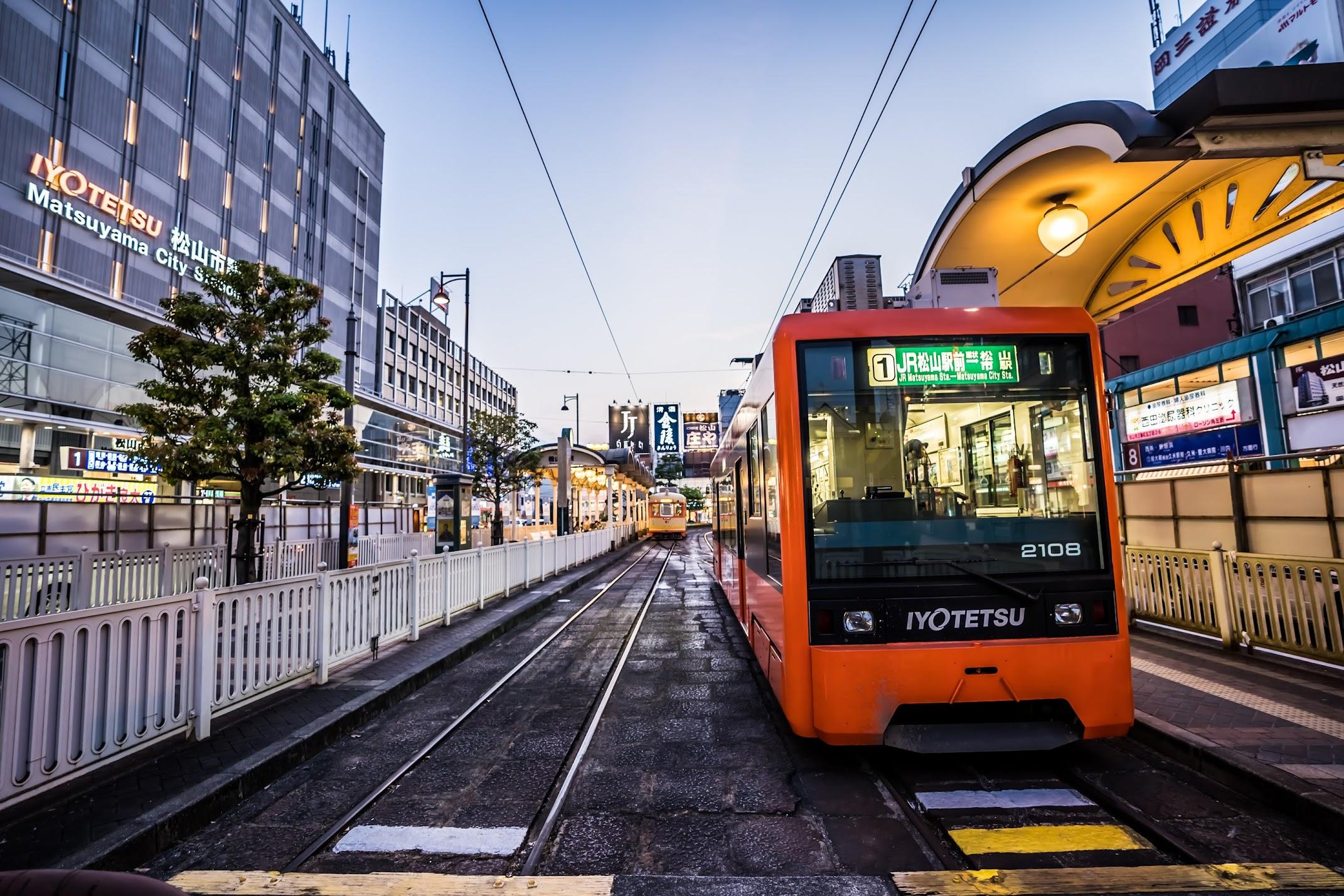 Matsuyama tram3