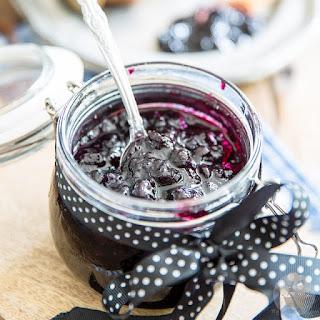Quick Blueberry Jam.