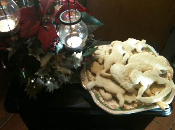 Wambold Cookies - Cut Outs Recipe