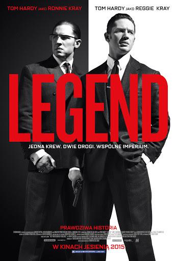 Polski plakat filmu 'Legend'