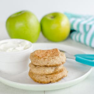 Baby Pancakes - Apple and Oat