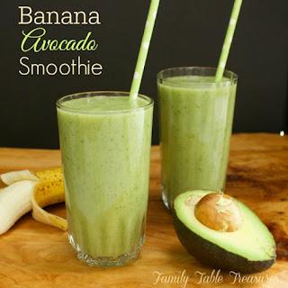 Banana Avocado Smoothie