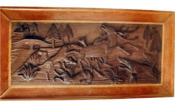 Photo: Este cuadro también es de los de más antigüedad. Tamaño: 80 x 155 cm.|| Talla en madera. Woodcarving.   Puedes conocer más de este artista en el blog: http://tallaenmadera-woodcarving-esculturas.blogspot.com/