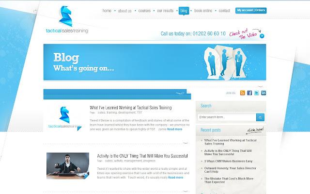 Tactical Sales & Business Blog