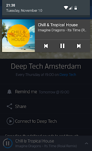 Digitally Imported Radio Screenshot 4