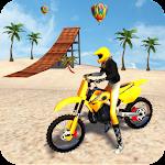 Motocross Beach Game: Bike Stunt Racing Icon