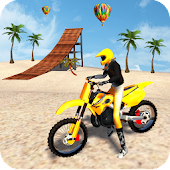 Motocross Beach Game: Bike Stunt Racing
