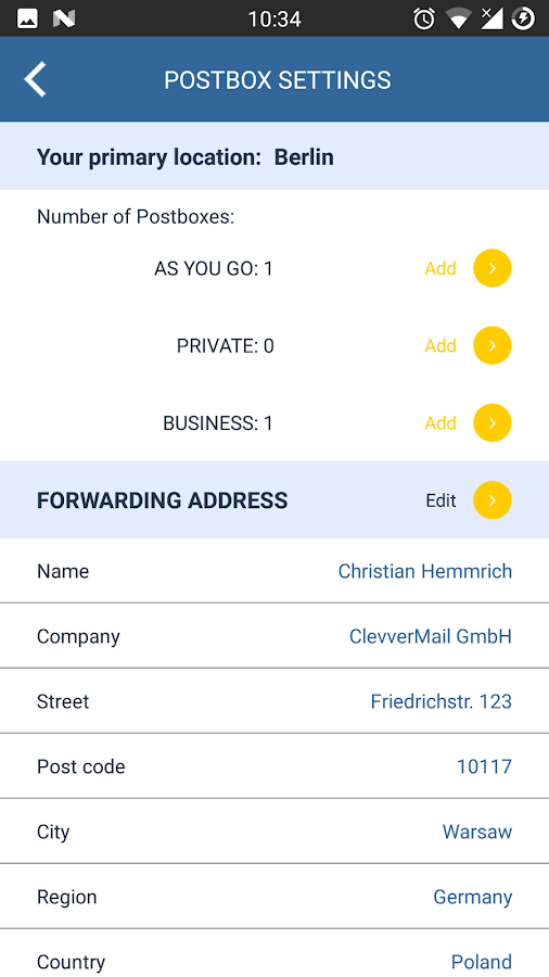 ClevverMail- screenshot
