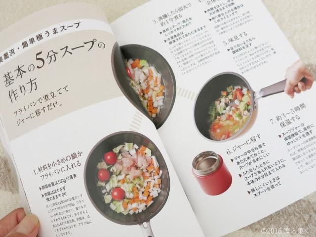 スープジャーのお弁当-目次ページ