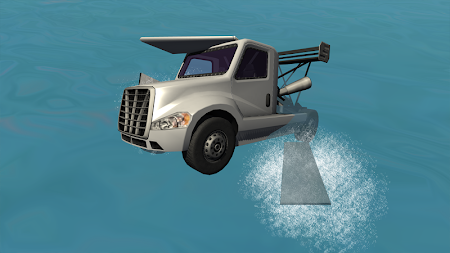 Flying Car Free: Truck Pilot 4 screenshot 711584