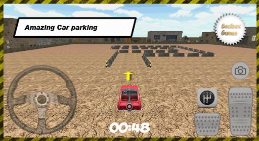 3D城市停车跑车