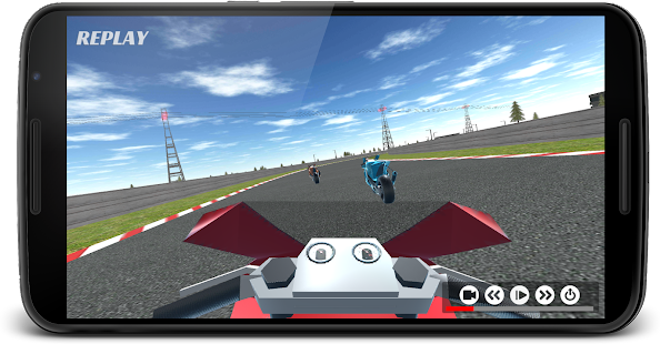 Racing bike rivals - real 3D racing game - náhled