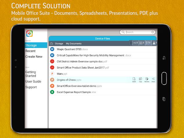 SmartOffice - View & Edit MS Office files & PDFs Screenshot