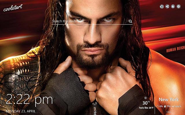 Roman Reigns HD Wallpapers WWE New Tab Theme