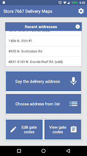 Store 7667 Delivery Maps - náhled