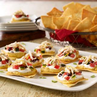 Mediterranean Pita Chip Nachos