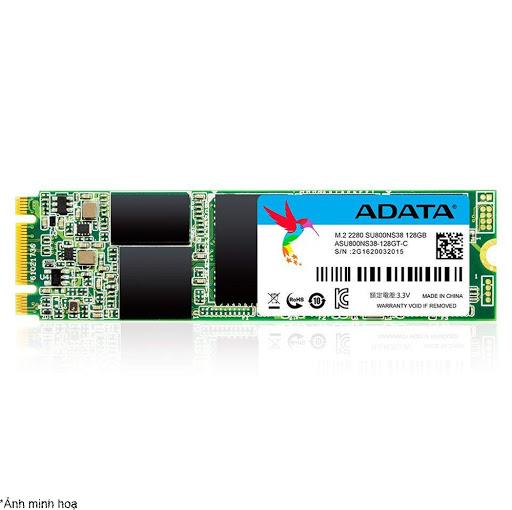ổ cứng SSD Adata 128GB M.2 (ASU800NS38-128GT-C M.2 SATA)