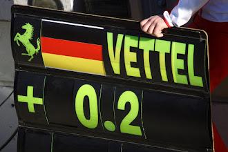Photo: Seb Vettel - Scuderia Ferrari