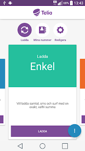 Telia Ladda- screenshot thumbnail
