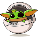 Baby Yoda Stickers for WhatsApp - WAStickerApps icon