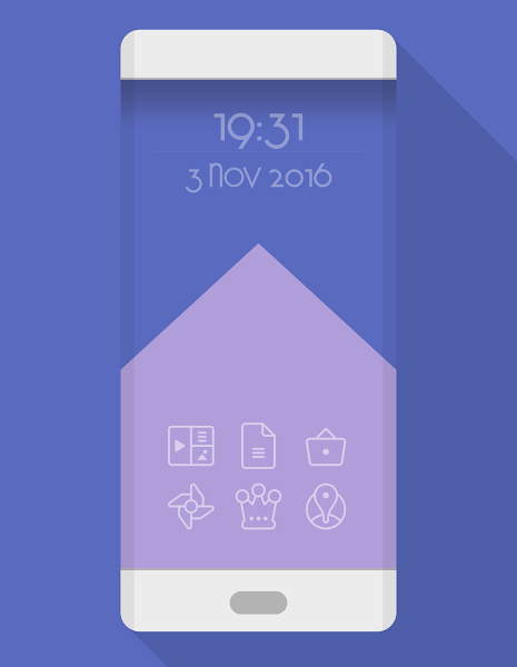 TwoPixel Light – Icon Pack v3.4