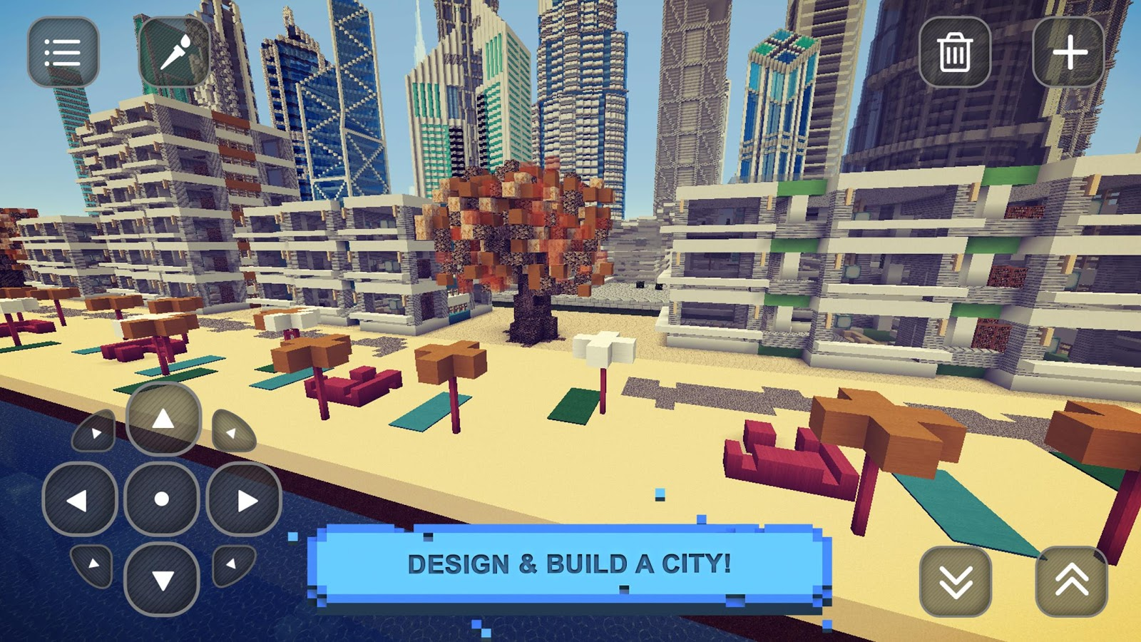 City Build Craft: Exploration- screenshot