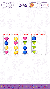 Bubble Sort Color Puzzle Game Screenshot