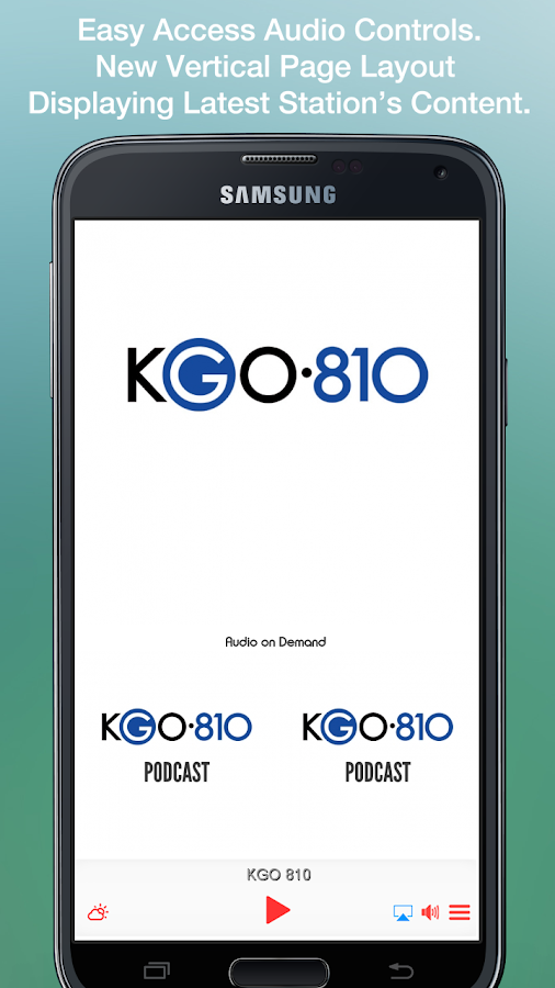 KGO 810- screenshot