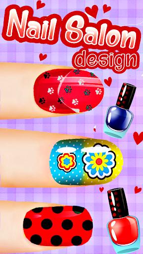 Fashion Ladybug Nail Salon screenshots 1