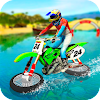 Water Surfing Motorbike Stunt APK Icon