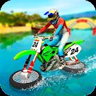 Water Surfing Motorbike Stunt icon
