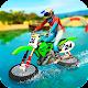 Water Surfing Motorbike Stunt