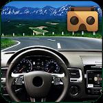 Highway VR Car - Cardboard Icon