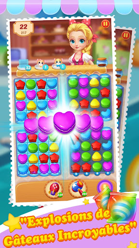 Télécharger Cake Jam Drop apk mod screenshots 3