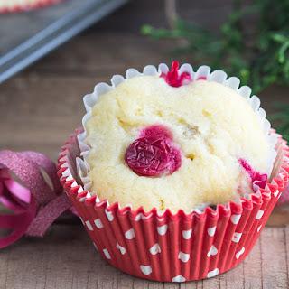 Cream Cheese Cranberry Muffins.