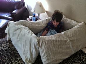 Photo: Clark's Pillow Fort