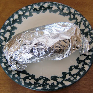 Foil Wrapped Oven Baked Potato