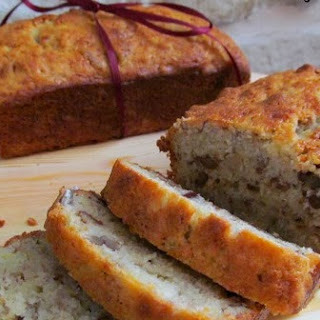 Boozy Banana Nut Bread